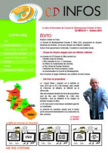 Lettre d'information du CD Estuaire & Sillon - 1er numéro