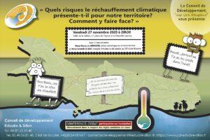Rechauffement climatique Estuaire et Sillon